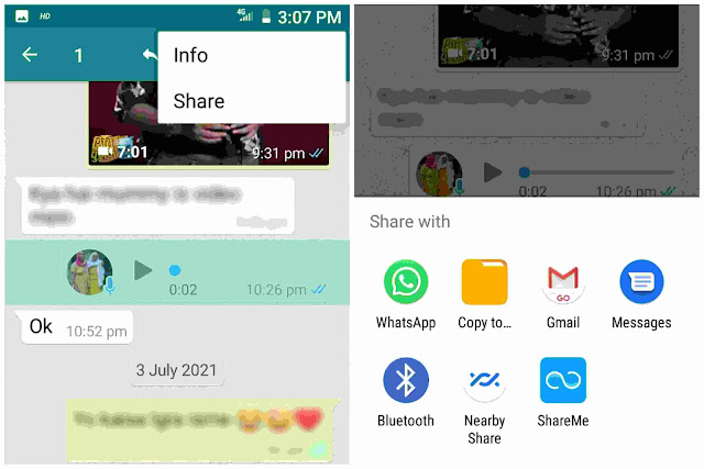 Save WhatsApp audio recording on Android