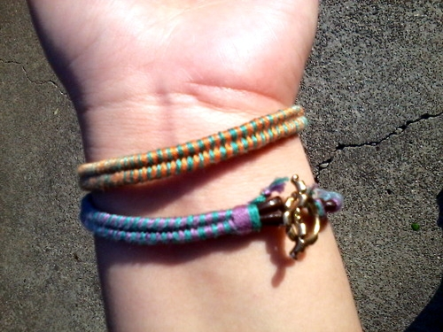 DIY fishtail bracelets