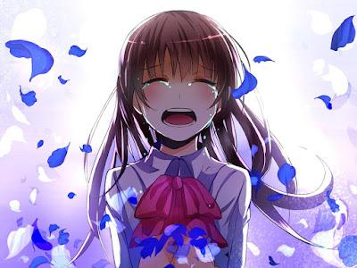 Gambar animasi sedih