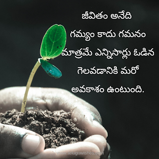 Quotes In Telugu about life
