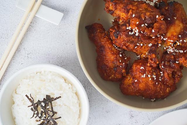 Resipi Ayam Pedas Korea | Korean Spicy Chicken