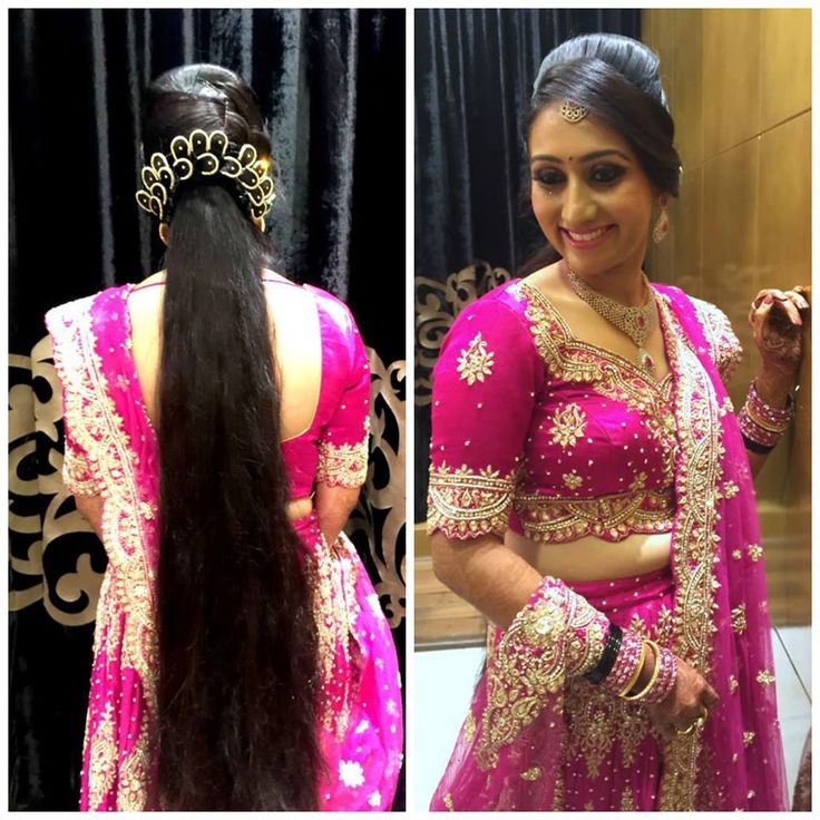 Tipsdekhoindia Indian Bridal Reception Makeup With Hairstyle