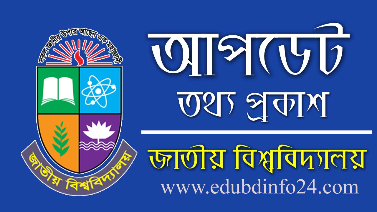 National university Exam notice 2020