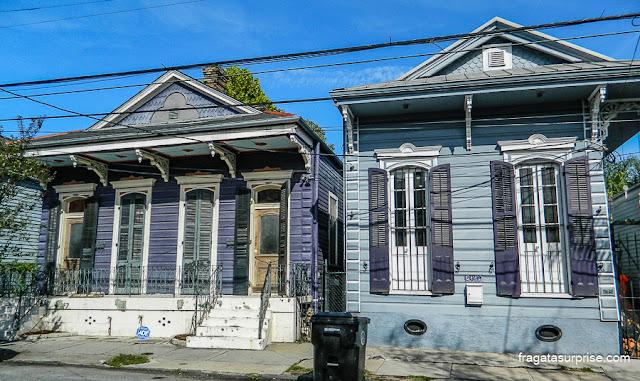 Arquitetura creole, Nova Orleans, Estados Unidos