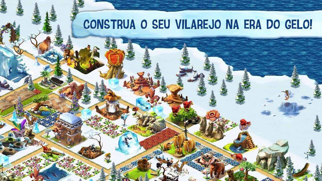 Ice Age Village MOD DINHEIRO INFINITO 3.6.0f