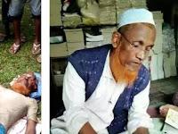 Sungguh Biadab! Ulama Terkemuka Rohingya Syeikh Faizul Islam Ditembak Mati Tentara Myanmar