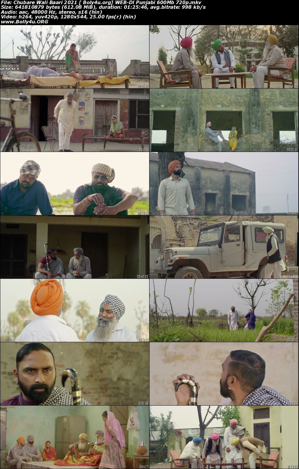 Chubare Wali Baari 2021 WEB-DL 280Mb Punjabi 480p Download