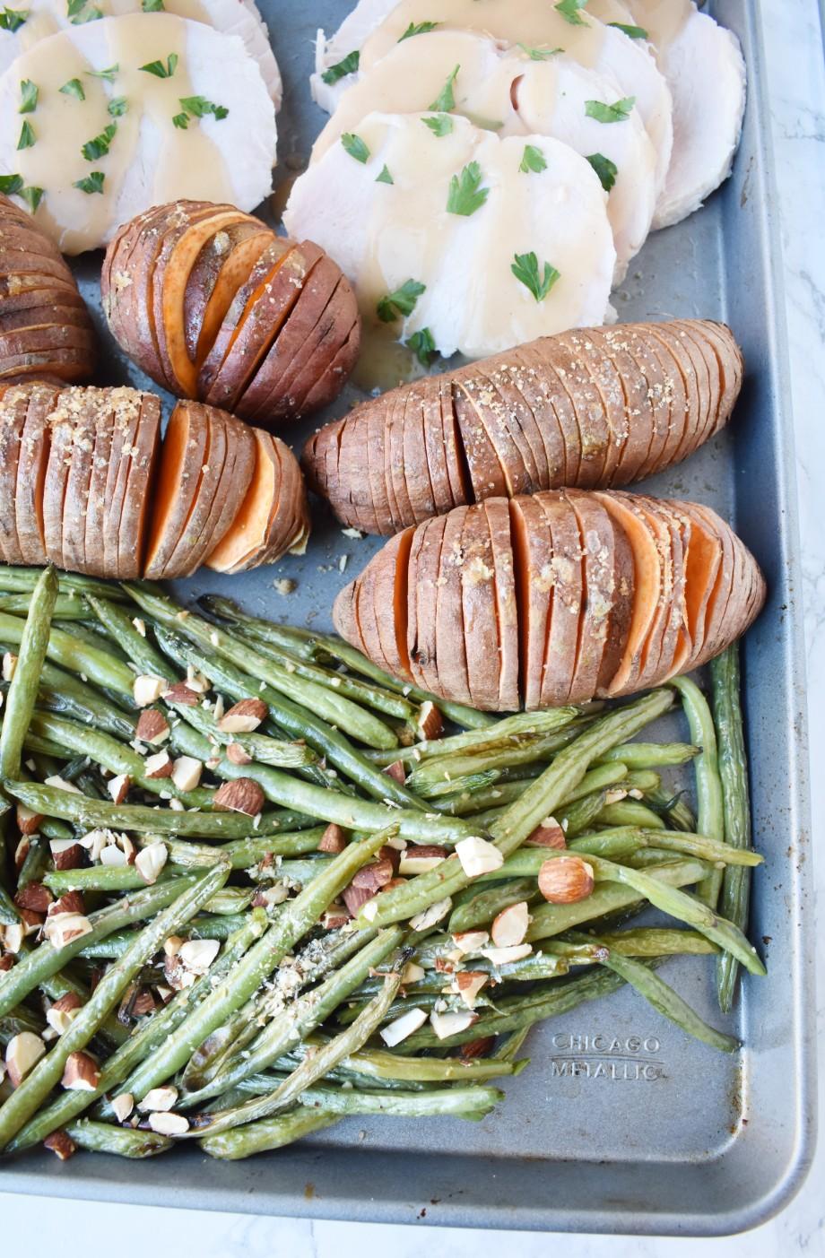 Sheet Pan Thanksgiving Meal