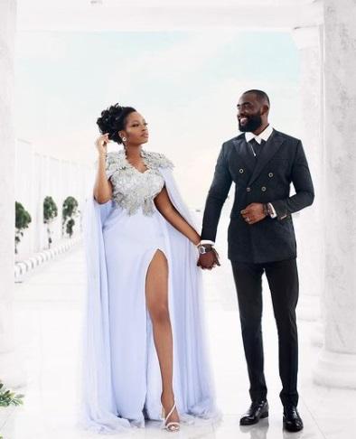 BBNaija's Khafi and Gedoni share their wedding photos...