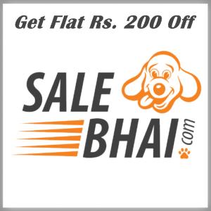 SaleBhai Rs. 200 Off Offer