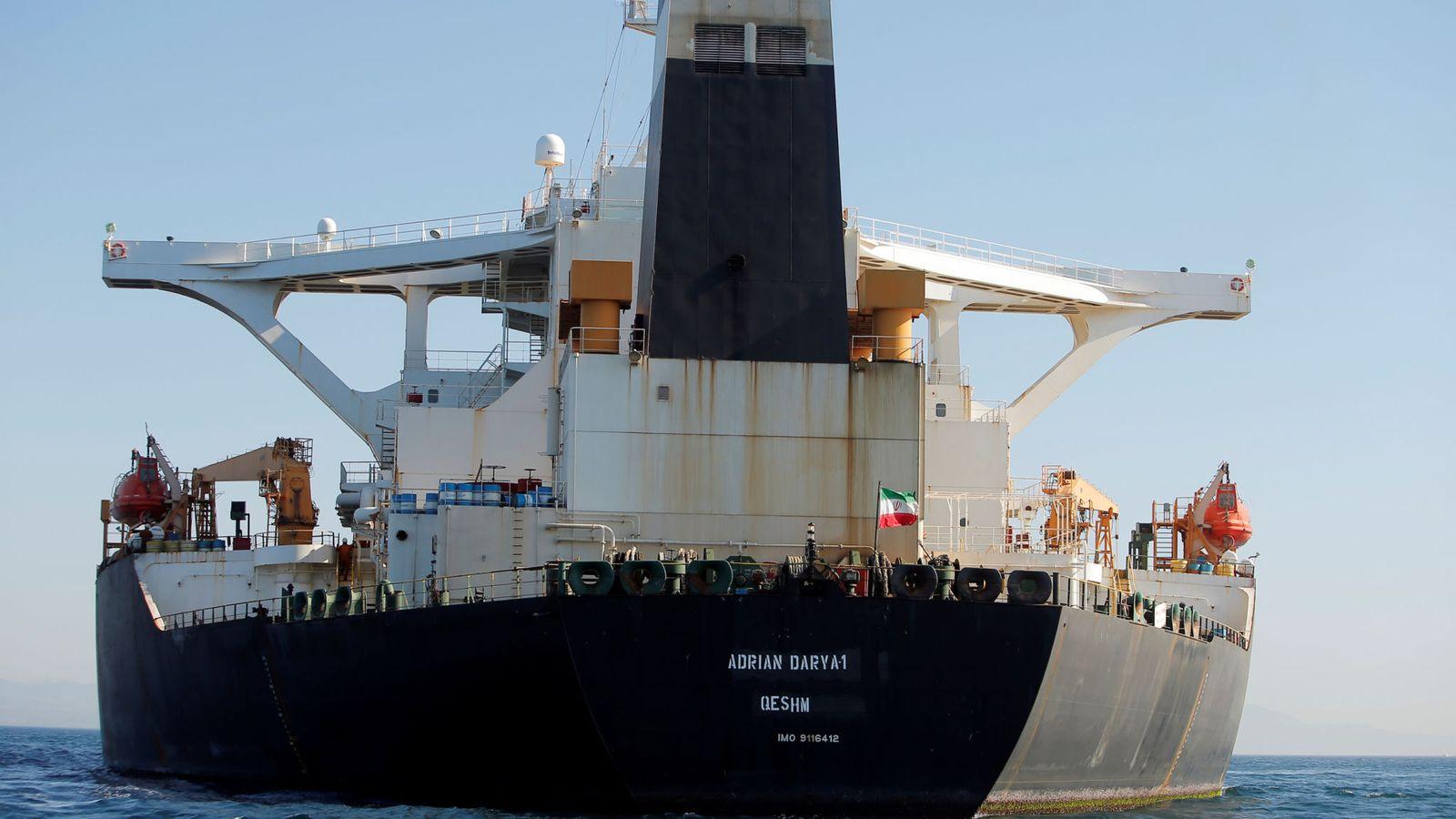 Un pétrolier iranien au centre de la lutte américaine pour le pouvoir quitte Gibraltar