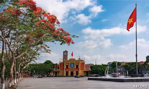 nhà hát thành phố Hải Phòng