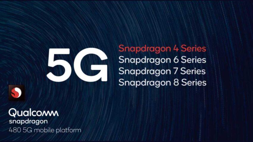 مميزات معالج كوالكوم Snapdragon 480 5G للهواتف منخفضة المواصفات