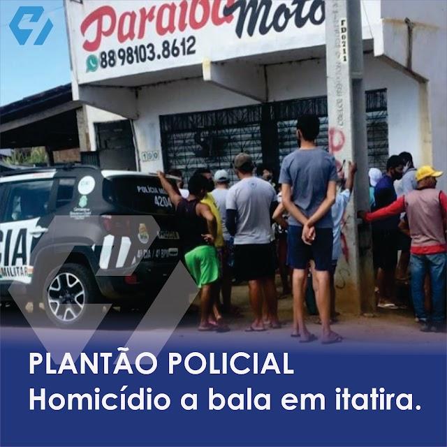 Homicídio no Distrito de Lagoa do Mato, em Itatira