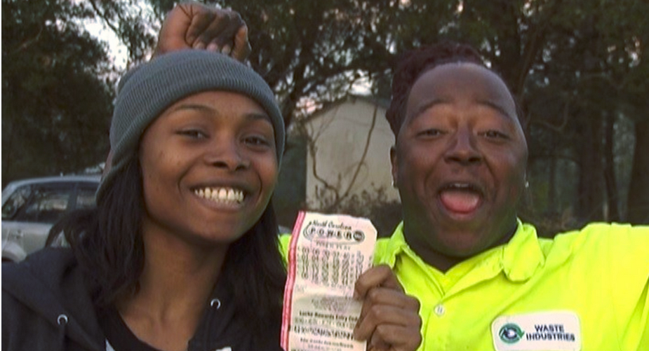 greedy pastor, lottery winner