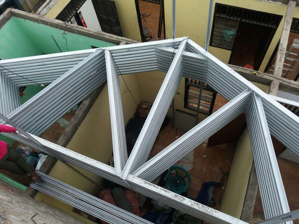 jasa pemasangan baja ringan di depok bongkar atap dan pasang tanggerang ...