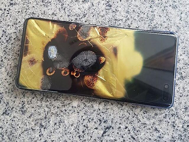 سامسونج تنفي ماقيل عن احتراق Galaxy S10 5G