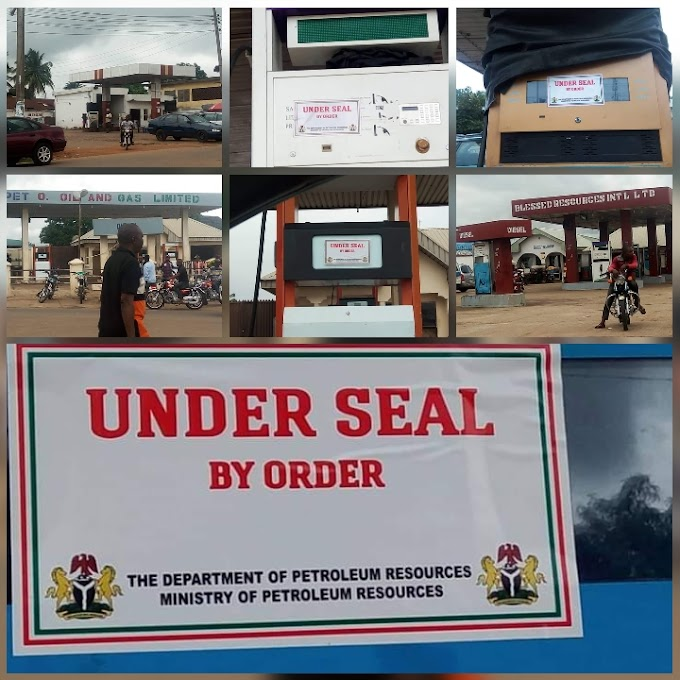 DPR reacts to NYCN petition, seals 5 Petrol Stations in Ogoja for Pump Price Hike.