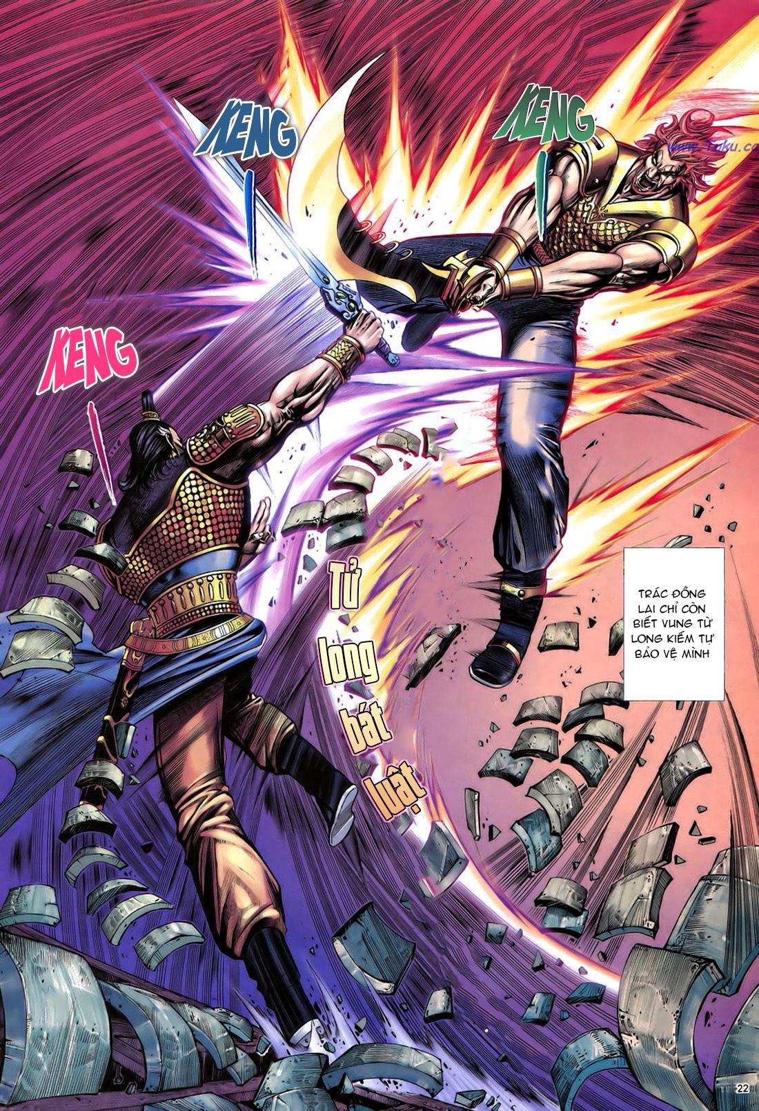 Anh hùng vô lệ Chap 22 trang 23
