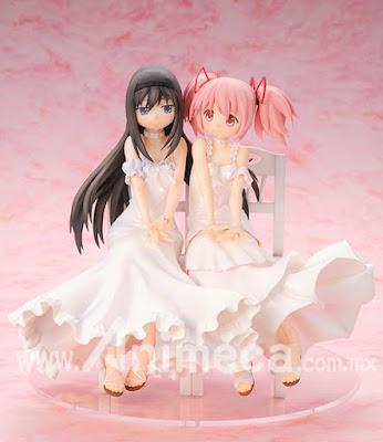 Figura Homura Akemi & Madoka Kaname Edición Limitada Puella Magi Madoka Magica the Movie