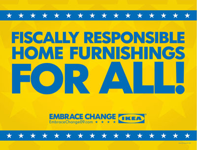 Ikea campaign: Fiscally responsible home furnishings for all