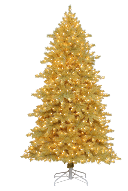 """Kandeeland: The coolest """"undecorated"""" Christmas Trees!"""