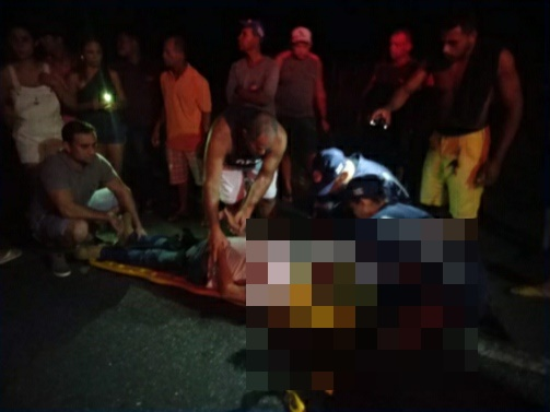Itororó: Carro atropela cavalo na BA 263 e deixa um idoso ferido