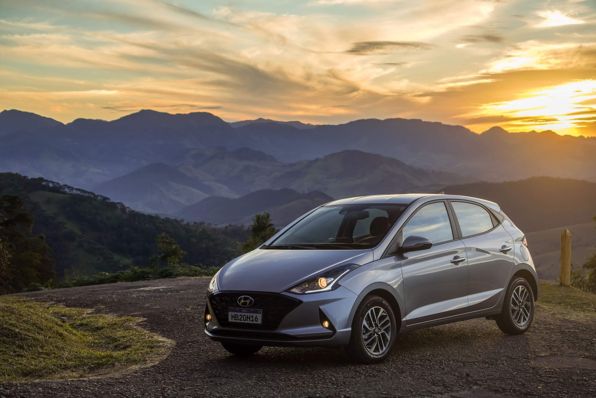 Hyundai HB20 2022 - 3º carro mais vendido do Brasil