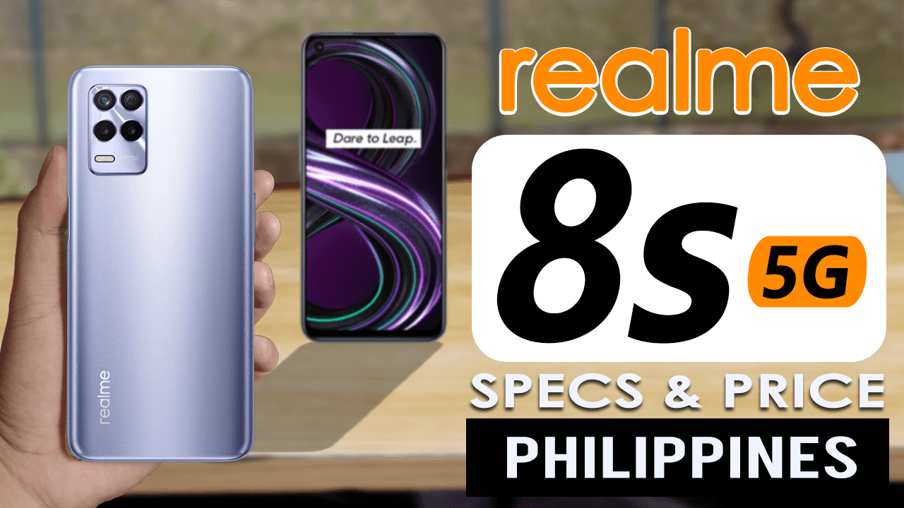 Realme 8S 5G price in Philippines