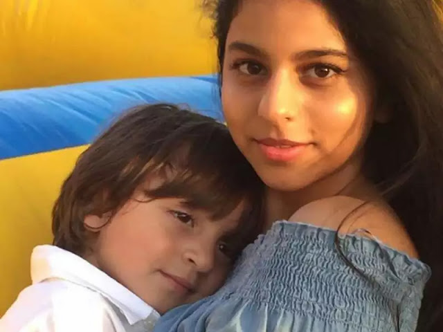 Suhana Khan with Abram khan