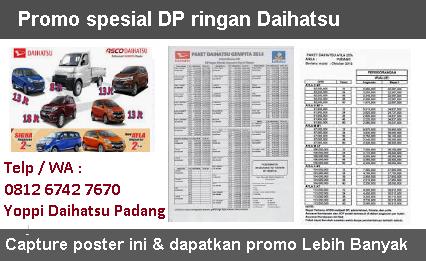 Daihatsu Padang Dealer Dan Info Harga Mobil Promo Xenia Sigra Ayla