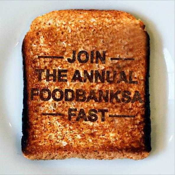 #R35Challenge FoodBank SA #thelifesway #photoyatra Toast