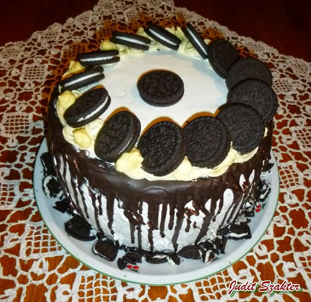 szülinapi torták díszítése Mit eszik a magyar?: Oreo szülinapi torta szülinapi torták díszítése