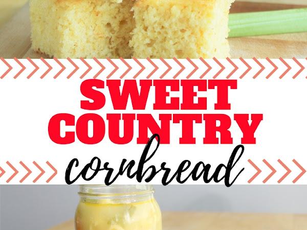Sweet Country Cornbread Recipe