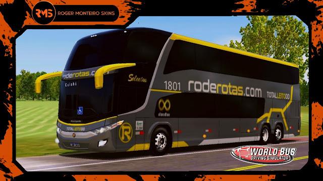 Skins World Bus Driving Simulator - Viação Roderotas