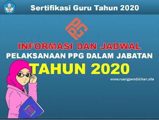 pelaksanaan ppg dalam jabatan 2020