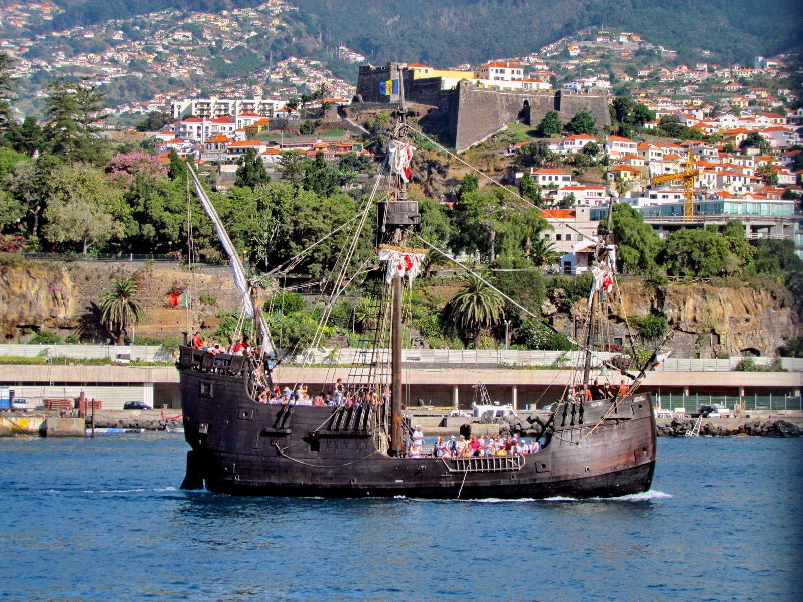 Santa Maria nau begin another trip
