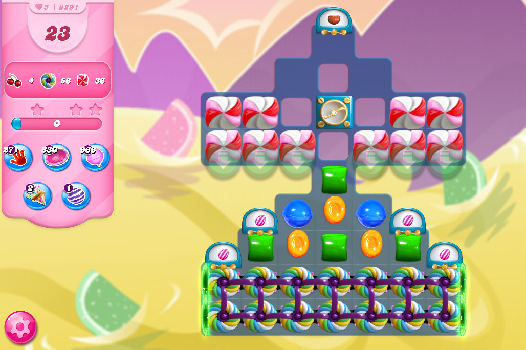 Candy Crush Saga level 8291
