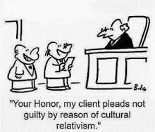 Reflexão sobre o relativismo cultural na relação da religião com a mulher e outras situações, como sistemas de castas e infanticídio indígena.