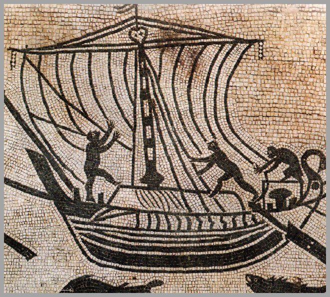 8c2cde68c51 Nonostante la nave fosse il mezzo preferito per gli spostamenti di merci e  uomini