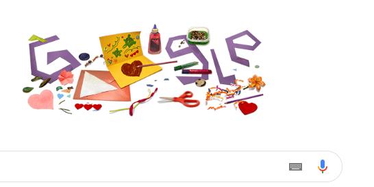 मदर्स  डे च्या शुभेच्छा! आजच्या Google Doodle साठी मनापासून कलाकृती तयार करा आणि पाठवा!