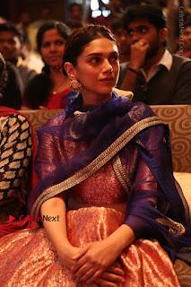 Aditi Rao Hydari Stills in Lehenga Choli at Cheliyaa Telugu Movie Audio Launch Event  0044.JPG