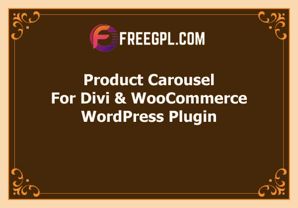 Product Carousel for Divi and WooCommerce Free Download