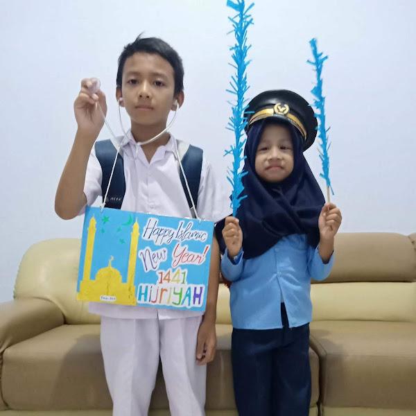 Enjoy Mengerjakan Tugas Sekolah Anak-anak di Tengah Pandemi Covid-19