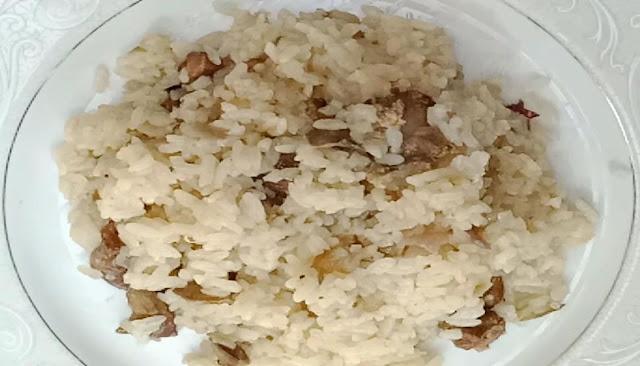 طريقة عمل برام ارز بكبد و قوانص الحمام بالحليب الشيف محمد الدخميسي
