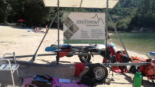 Aluguer de canoas - GERÊSMONT