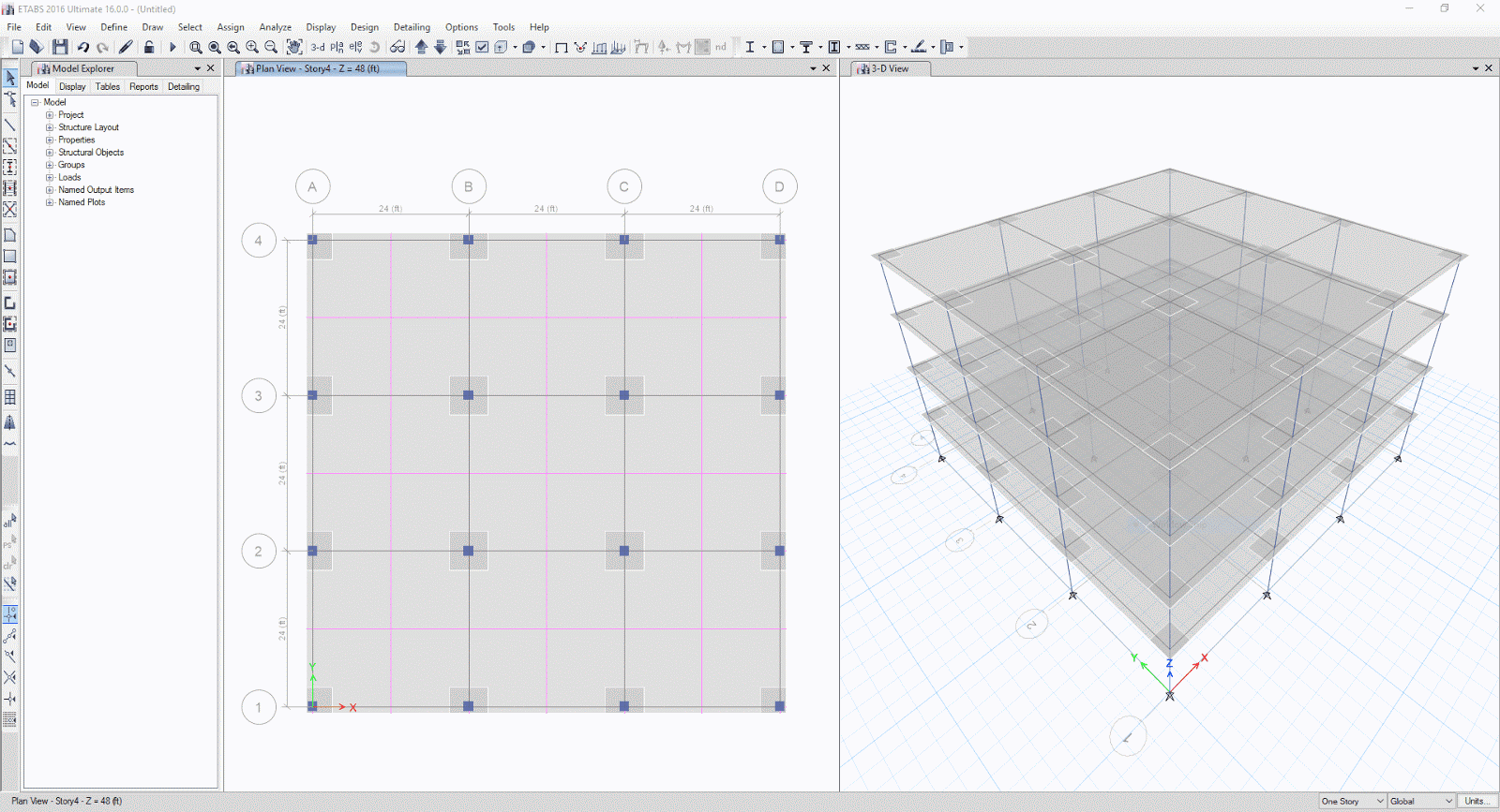 Download etabs 2016 v16 2 0 x86 x64 civil engineering Building structural design software free download