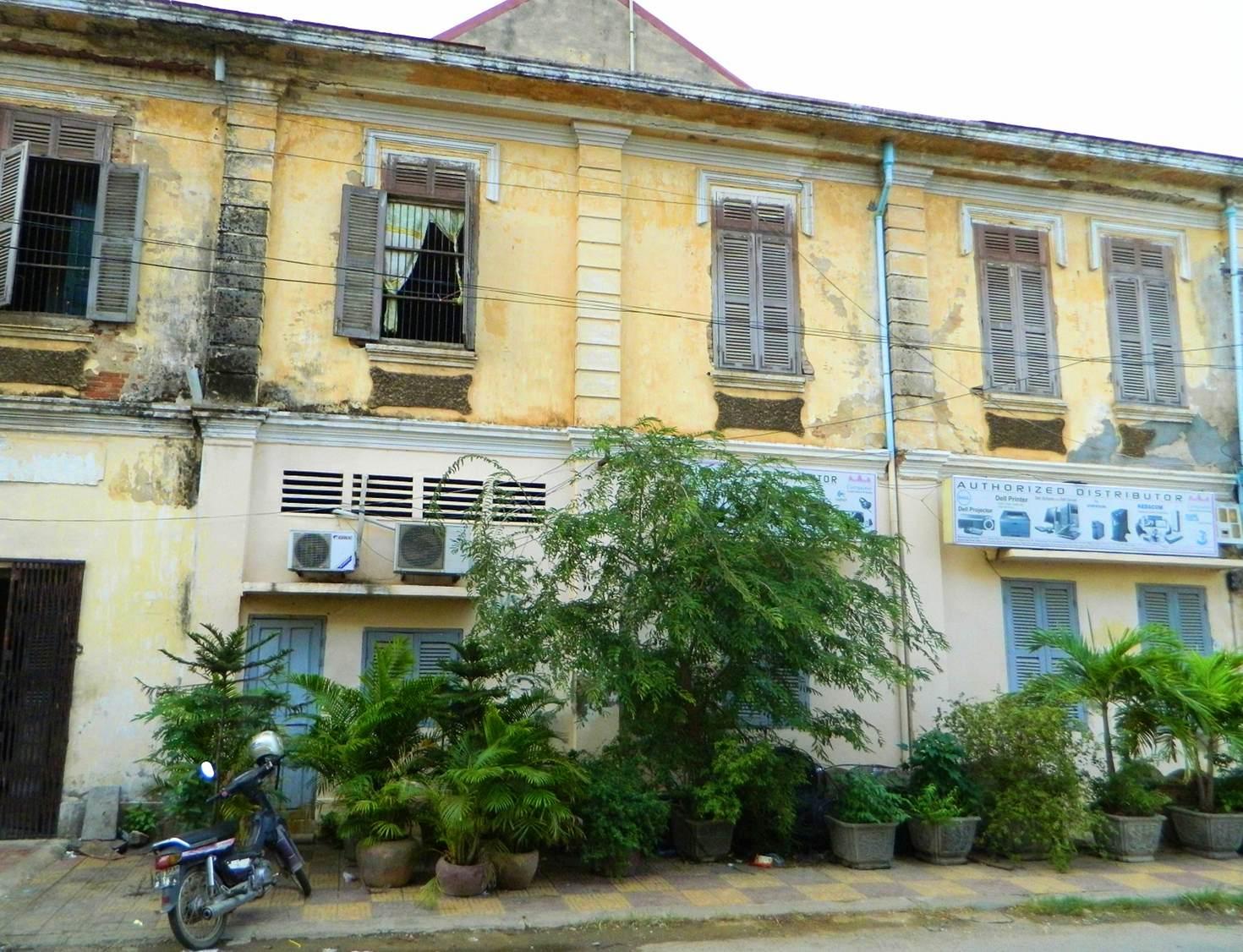 Battambang colonial scene