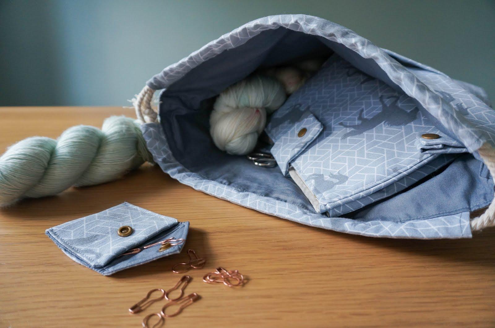 Sew your own drawstring bag