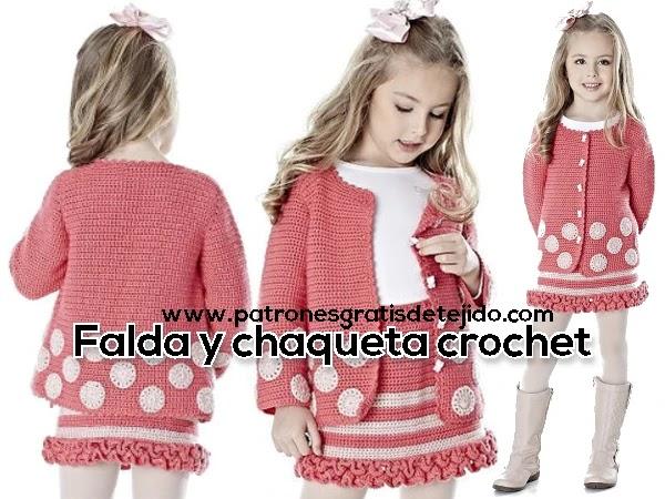 conjunto-niñas-crochet-falda-blusa